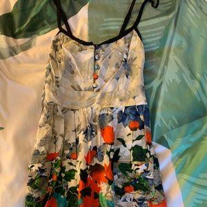 Floral cotton dress